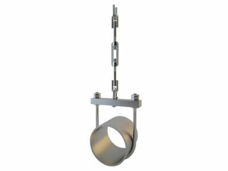 Подвесные опоры трубопровода — завод деталей трубопровода ТрубСталь