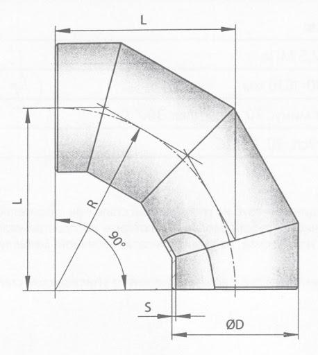 Отвод сварной по стандарту ОСТ 36-21-77 — Завод деталей трубопровода ТрубСталь